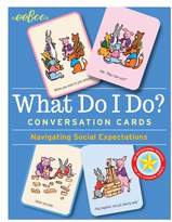 Eeboo What Do I Do? 48-Piece Flash Card Set