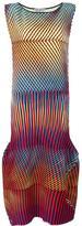 Issey Miyake 'Prism' pattern maxi dress