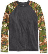 Epic Threads Boys' Camo-Print T-Shirt, Only at Macy's