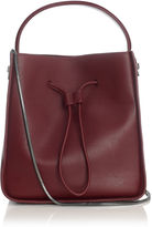 3.1 Phillip Lim Burgundy Bucket Drawstring Soleil Bag