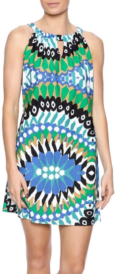 Aryeh Contemporary Print Dress