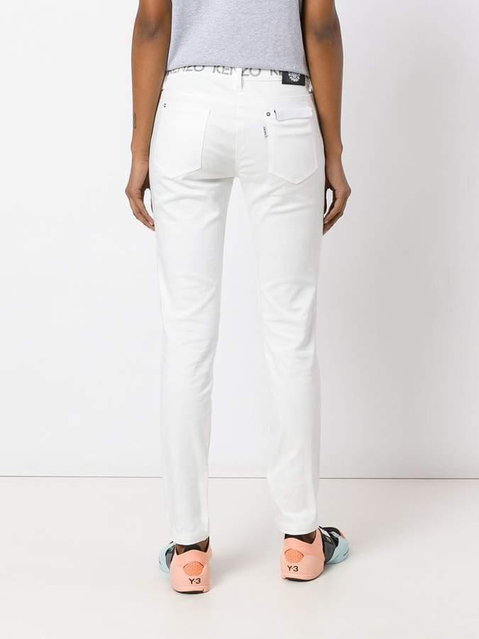 Kenzo logo waistband skinny jeans