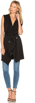 Soia & Kyo Lilian Vest in Black. - size S (also in )