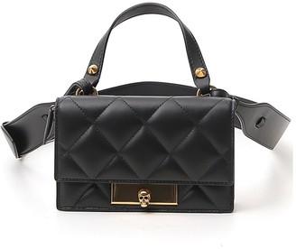 Alexander McQueen Mini Skull Lock Crossbody Bag