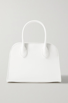 The Row Margaux 7.5 Leather Tote - Off-white