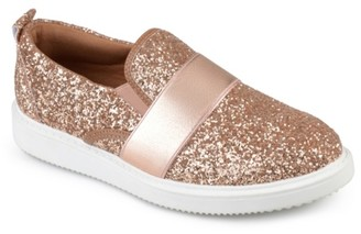 Journee Collection Luster Slip-On Sneaker