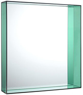 Kartell Only Me Mirror - Green - 50x50cm