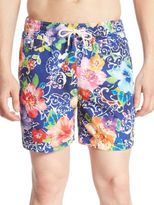Polo Ralph Lauren Traveler Floral Swim Shorts