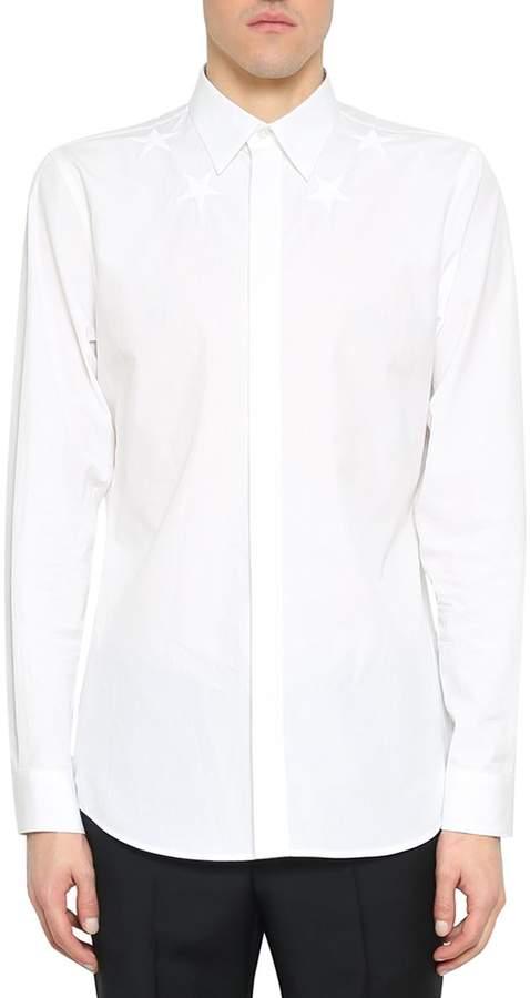 Givenchy Cotton Poplin Stars Shirt