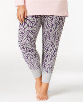 Alfani Plus Size Printed Pajama Leggings, Only at Macy's
