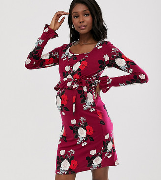 Mama Licious Mamalicious floral nursing dress