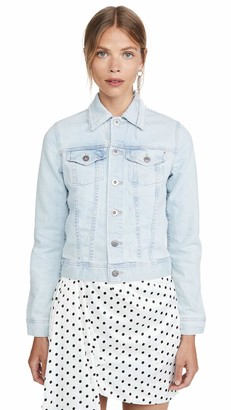 AG Jeans Women's Robyn Fitted Denim Jacket