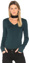Michael Stars Thumbhole V Neck