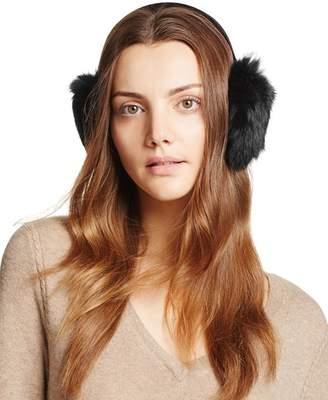 Surell Rabbit Fur Ear Muffs