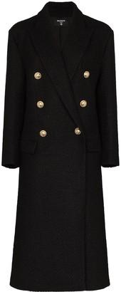 Balmain Double-Breasted Wool Coat