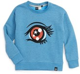 Molo Girl's Malena Embroidered Eye Sweatshirt