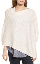 Eileen Fisher Women's Organic Linen & Cotton Poncho