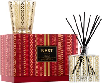 NEST New York NEST Fragrances Holiday Classic Candle & Reed Diffuser Set