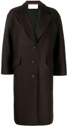 Harris Wharf London oversized single-breasted coat