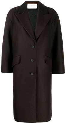 Harris Wharf London Oversized Single-Breasted Coat