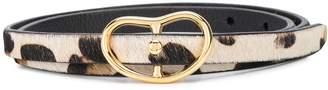 Lizzie Fortunato animal print belt