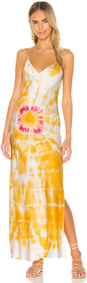 Dannijo Bullseye Dyed Slip Dress