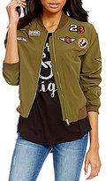 C & V Chelsea & Violet Patch Bomber Jacket