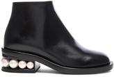 Nicholas Kirkwood Leather Casati Pearl Boots