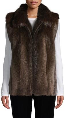 Wolfie Fur Made For Generation Beaver Fur Vest