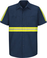 JCPenney Red Kap Short-Sleeve Visibility Shirt