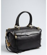 Rebecca Minkoff black leather 'MAB' weekend satchel