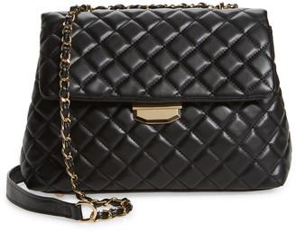 Lulus Lulu's Real Stunner Vegan Leather Bag
