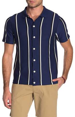 J.Crew J. Crew Coolmax Stripe Short Sleeve Polo