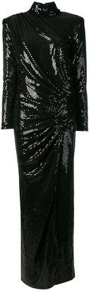 In The Mood For Love sequined Josefina dress