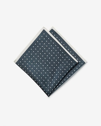 Express Dot Silk Pocket Square