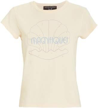 Monogram Seashell Magnifique Baby T-Shirt