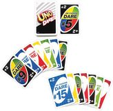Mattel Uno Dare Card Game by