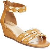 Bella Vita Imogen Ankle-Strap Wedge Sandals