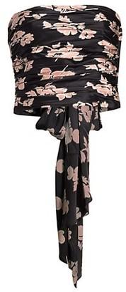 Cinq à Sept Winola Floral Silk Top