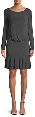 Bailey 44 Long-Sleeve Ruffled Dress