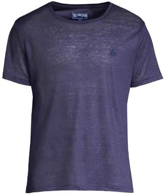 Vilebrequin Linen Crew T-Shirt
