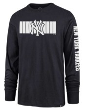 '47 New York Yankees Men's Cross Stripe Long Sleeve T-Shirt