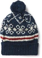 Thom Browne - Fair Isle Wool And Mohair-blend Bobble Hat