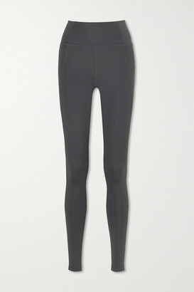 Girlfriend Collective + Net Sustain Compressive Stretch Leggings - Gray