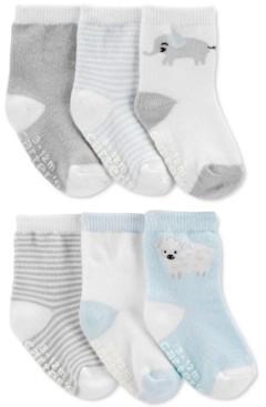 Carter's Baby Boys 6-Pk. Printed Socks