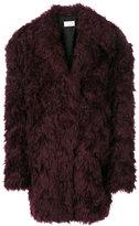 Maison Margiela textured shagpile coat