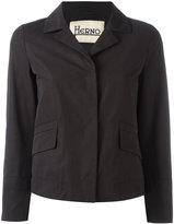 Herno tailored jacket - women - Cotton/Polyethylene/Polyester/Acetate - 46