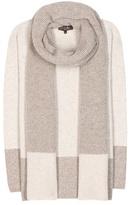 Loro Piana Dusseldorf cashmere sweater with scarf
