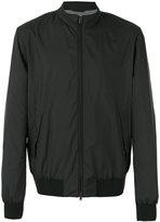 Herno classic collar bomber jacket