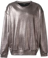 Unconditional oversized foil sweatshirt - men - Cotton - XS